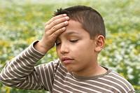 CHILD WITH HEADACHE Model.