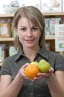 ORGANIC FOOD Organic grocery store.
