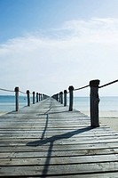 Wooden pier, Zanzibar, Tanzania