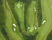 Golf course, Rhineland, Germany