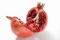 Pomegranate, halved