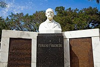 Perucho Figueredo Monument, Parque Cespedes, Bayamo, Granma Province, Cuba