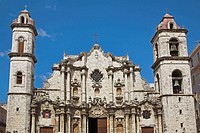 Catedral de La Habana, San Cristobal Cathedral, Plaza de la Catedral, Havana, La Habana Vieja, Cuba