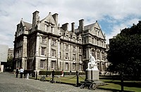 Graduates Memorial Building, Trinity College, College Green, Dublin, Southern Ireland