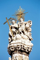 Holy Trinity Statue, Szentharomsag Ter, Trinity Square, Castle Hill District, Budapest, Hungary