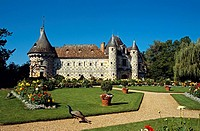 Chateau de St-Germain-de-Livet, Normandy, France