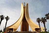 Algeria, Algiers, Martyrs Monument