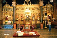 Bulgaria, Sofia, Alexander Nevsky Cathedral, indoor