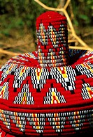 Ethiopia, Bahar Dar, market, handicrafts, mesob
