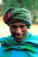 Ethiopia, portrait of an Amhara man