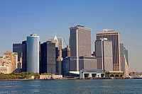 United States, New York, cruise around Manhattan island, urban landscape