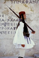 Evzone Guards, Parliament Building, Athens, Greece