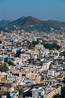 Panorama, Udaipur, Rajasthan, India