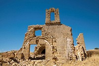 Ruins of old chapel, Osuna. Sevilla province, Andalucia, Spain