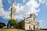 Church of S. Eufemia, Rovinj. Istrian peninsula, Croatia