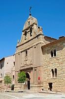 San Felipe Church, historic town centre, Molina de Aragon, Castille La Mancha, Spain, Europe