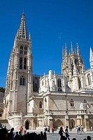 Gothic cathedral (13th century). Burgos. Castilla-León. Spain