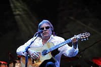The Puerto Rican singer and guitarist Jose Feliciano at the International Cultural Festival, Horizonte, 31.07.2008, Koblenz, Rhineland-Palatinate, Ger...