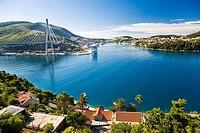 Dubrovnik Harbour, Ragusa, Dubrovnik-Neretva county, Dalmatia, Croatia, Europe