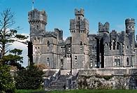 Ashford Castle, castle hotel on Lough Corrib, County Mayo, Ireland, Europe