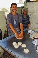 Baker, Bakery in Yemen, Arabia, Arabian Peninsula, Middle East