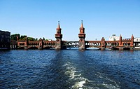Oberbaumbruecke Bridge, Berlin, Germany, Europe