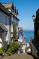The Seaside Village of Clovelly, North Devon, England, UK