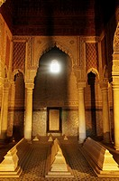Saadian tombs (16th century), Marrakech, Morocco