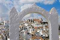 Spain. Andalusia. Malaga province. Axarquia mountains. Village of Comares.