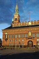 Copenhagen Town Hall, Radhus, Denmark, Scandinavia, Europe