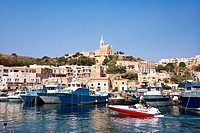 Fishing harbour, Mgarr, Gozo, Malta, Europe