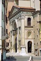 Italy, Lombardy, Mantova, Basilica di Sant´Andrea, Church.
