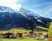 Nesselwaengle, Thannheim Valley, Tyrol, Austria, Europe