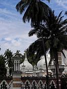 Jamek mosque, Kuala Lumpur, Malaysia, Asien