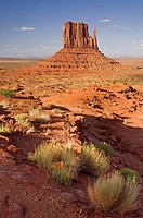 Monument Valley, USA, Located on the southern border of Utah with northern Arizona