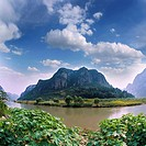 Nature Scene In Zhang River,Hubei,China