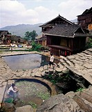 The Village Of Miao Tribe,Guizhou,China
