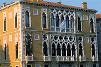 Italy _ Venice _ The Ca' d'Oro _ beautiful and delicate architecture