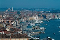 Italy _ Venice _ the harbour _ cityscape