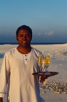 Maldives _ Dunikolu Island _ Coco Palm Resort _ 'evening on the sand'