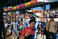 Crowd at Wankhede stadium , Bombay Mumbai , India