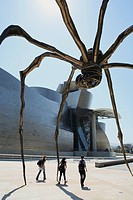 Manan Spider sculpture, Bilbao, Biscay, Spain