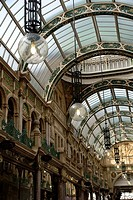 The County Arcade, Leeds, West Yorkshire, England