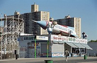 Astroland amusement park, Coney Island, New York, USA