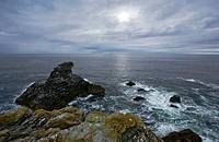Brittany, Belle-Ile, wild coast: ´Les Poulains´