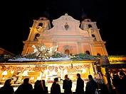 Baroque Christmas Market Ludwigsburg, Baden-Wuerttemberg, Germany