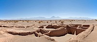 Ruins of Tulor, an ancient Atacameños village, San Pedro de Atacama, Región de Antofagasta, Chile, South America