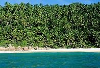anse victorin, fregate island, seychelles