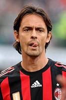 filippo inzaghi ,milano 19_10_2008 ,serie a football championship 2008/2009 ,milan_sampdoria 3_0 ,photo paolo bona/markanews