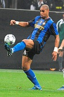 adriano,milano 22 10 2008 ,football champions league 2008/2009 ,inter_anorthosis famagusta 1_0 ,photo paolo bona/markanews